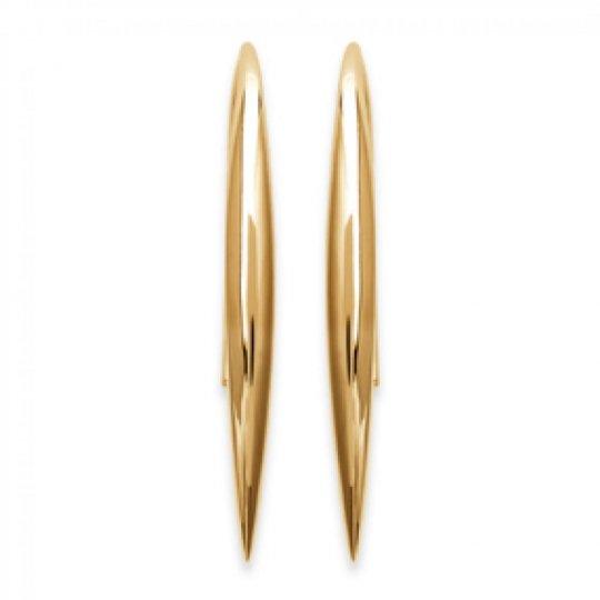 Earrings Tige Crochet Gold...