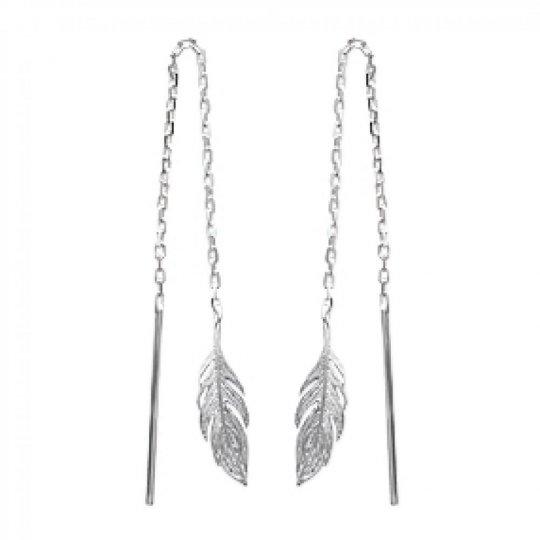 Earrings Feathers...