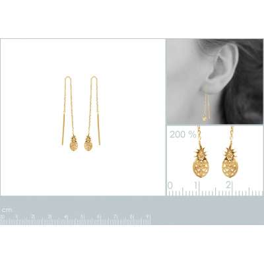 Earrings Ananas Chain...