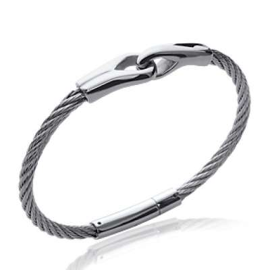 Bracelet Steel cable 316L - Women - 66mm