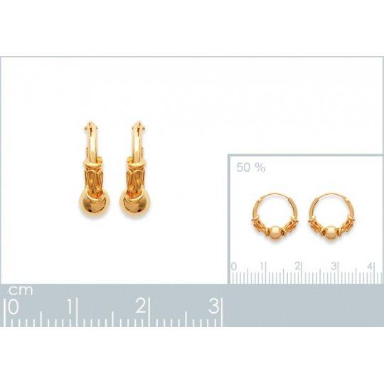Hoop Earrings of Bali...
