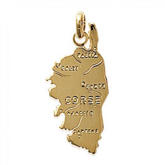 Pendants CORSE Gold plated 18k pour for Men Women