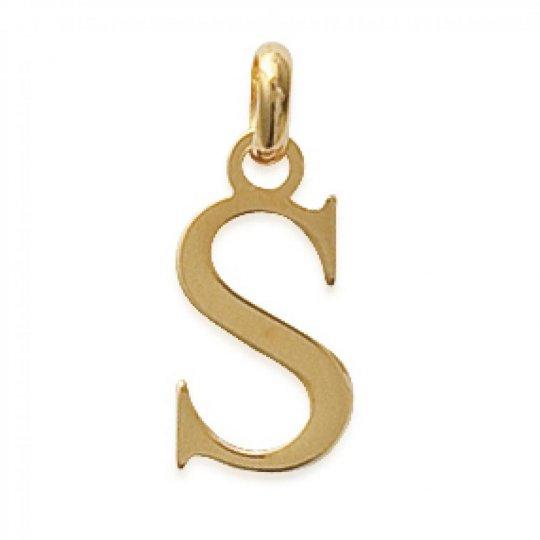 Pendants Lettre S Gold...