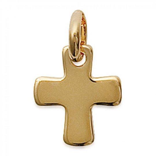 Pendentif Crucifix Plaqué Or pour Homme Femme Croix...