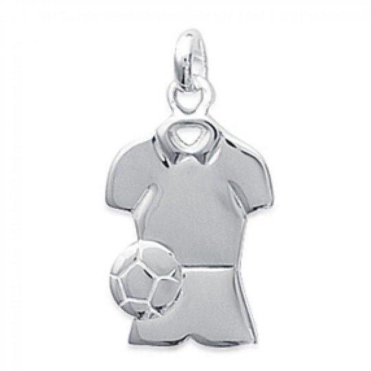 Pendentif FOOTBALL Argent pour Homme Femme