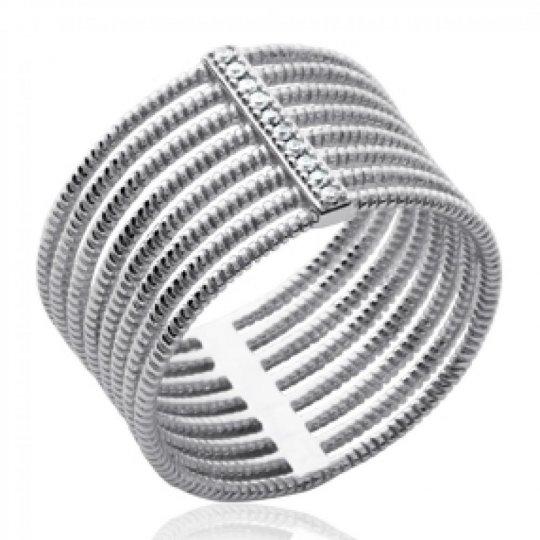 Bague large multi anneau...