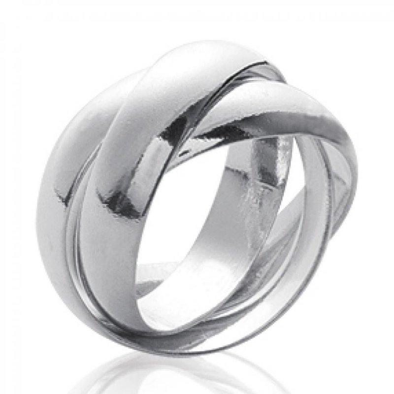 alliance 3 anneaux pour couple argent homme femme. Black Bedroom Furniture Sets. Home Design Ideas