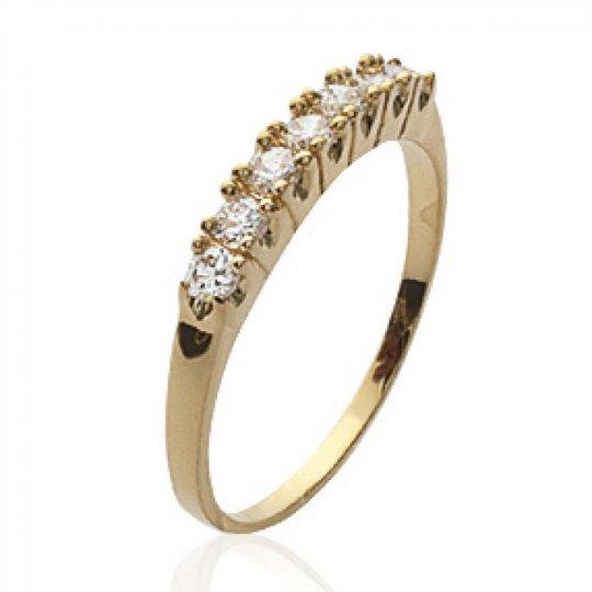 Ringe jarretière Vergoldet 18k - Zirconium - Promesse &...