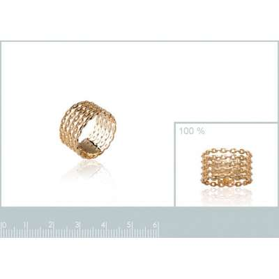 Ring Chains rigides Gold...