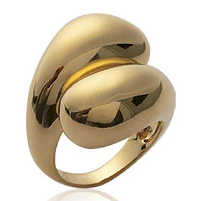 Grosse Anello Placcato in oro 18k - Donna