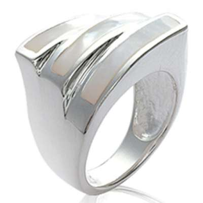 Ring Mother of pearl...