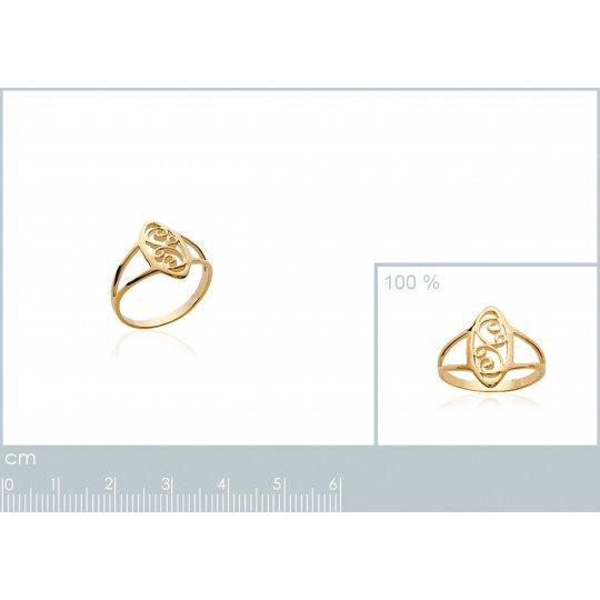 Ring Celtique fine Lacework...