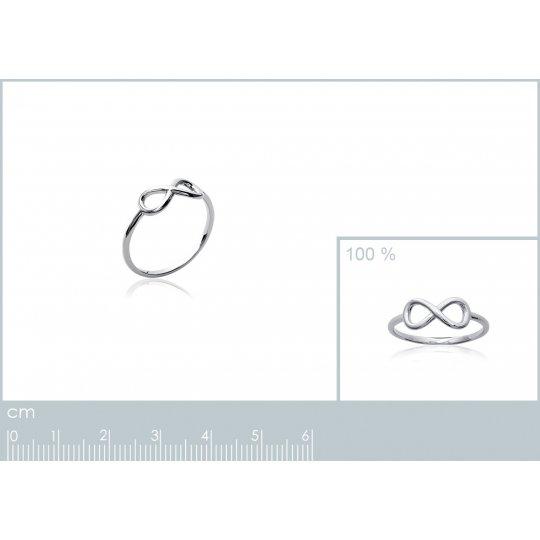 Ring Infinite fine Argent...