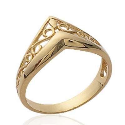Ring couronne celtique en v...