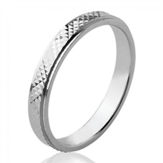 Ring de mariage originale Wedding ring Engagement Argent...