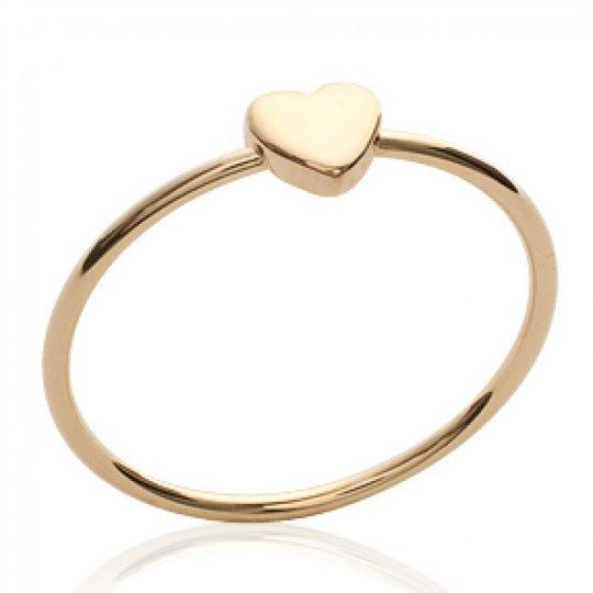 Ring Heart  fine Gold...