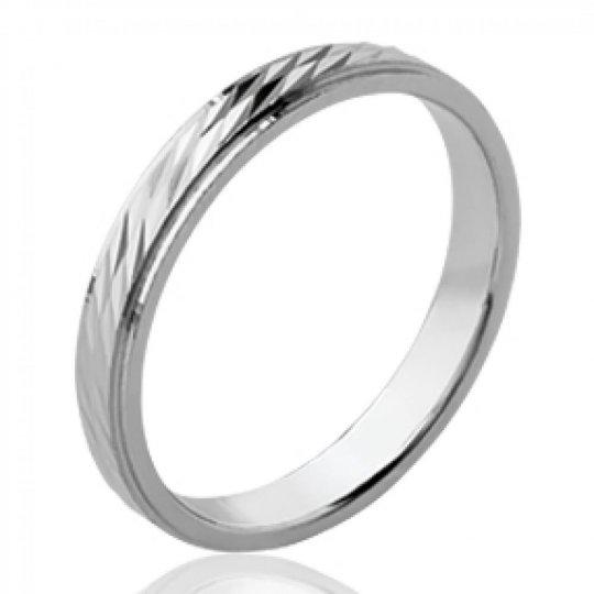 Ring de mariage fine Wedding ring Engagement Argent...