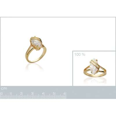 Ring Marquise pour...