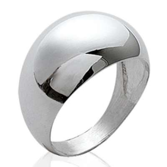 Grosse Ringe dôme Argent - Damen - petite et grande Größe