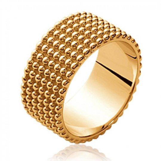 Ring Bangle perlée Gold...