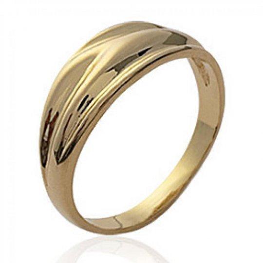 Ring fine modelée Gold...