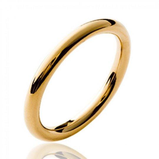 Bague anneau simple épais...