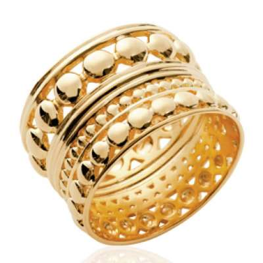 Ring tube of Bali Gold...
