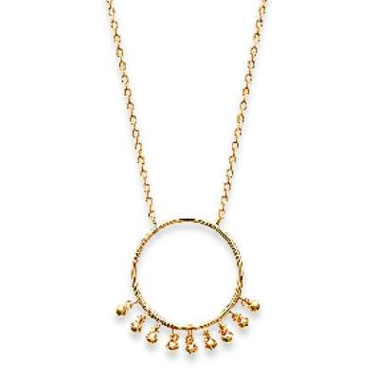 Necklace anneau breloques...
