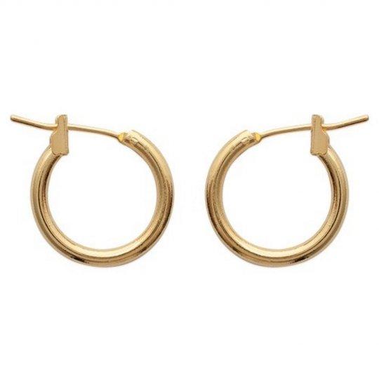 Petites Hoop Earrings Gold...