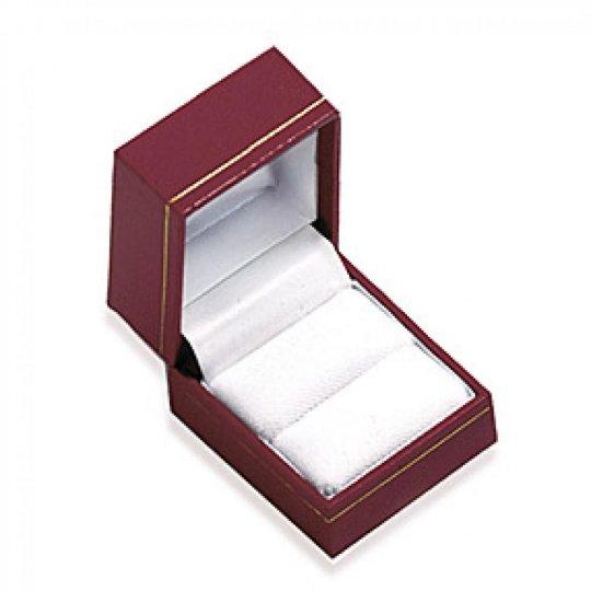 Écrin rouge pour Ringe boite cadeau