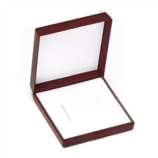 Écrin rouge pour petite parure boite cadeau
