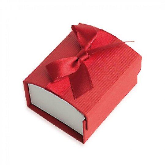 Écrin rouge pour Ringe 50x58x35mm