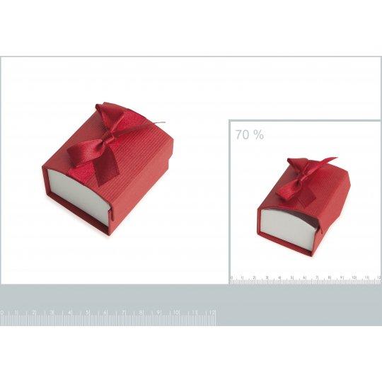Écrin rouge pour Ring...