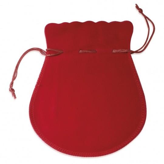 Pochon rouge 50mm pour Boucles d'oreilles Bague Chaîne...