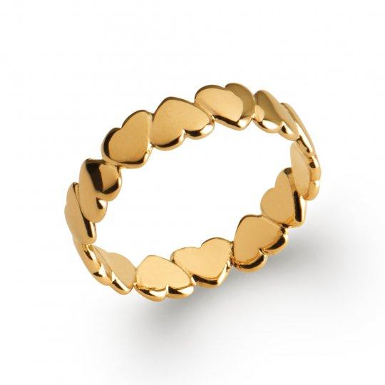 Ringe Herzen Vergoldet 18k - Damen