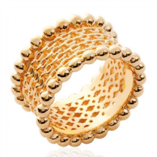 Ringe Armband style Kettes Vergoldet 18k - Damen