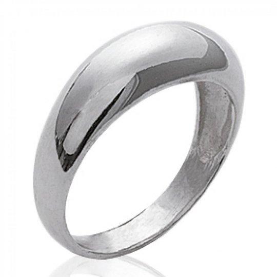 Ring dôme fine Argent - Women