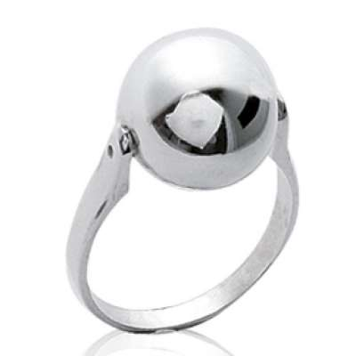Anillo grosse Bola Argent - Mujer