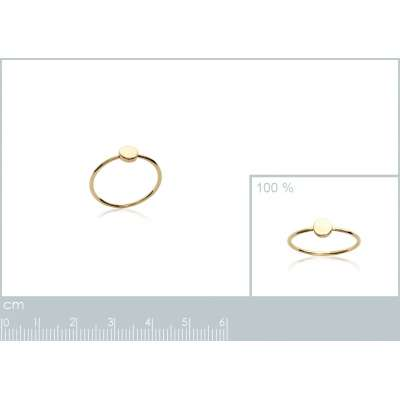 Ring Gold plated 18k fine...