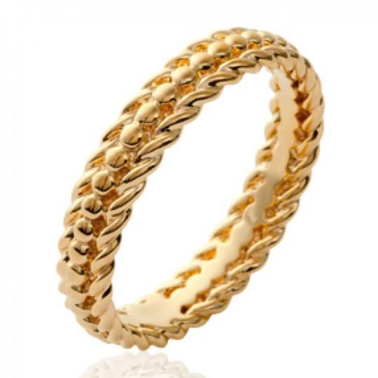 Ring perlée originale Gold plated 18k - Women