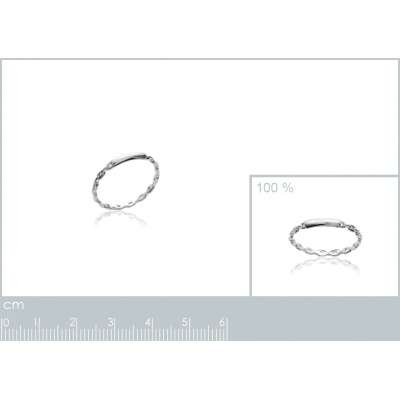 Ring Argent fine style...