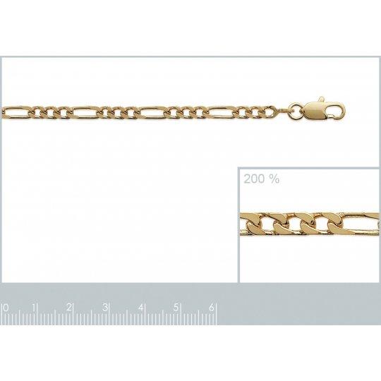Bracelet chaîne Figaro...