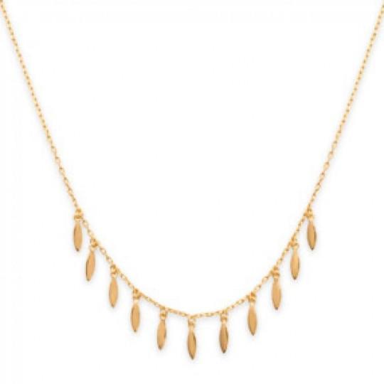 Necklace Breloque Gipsy bohème Gold plated 18k - Women -...