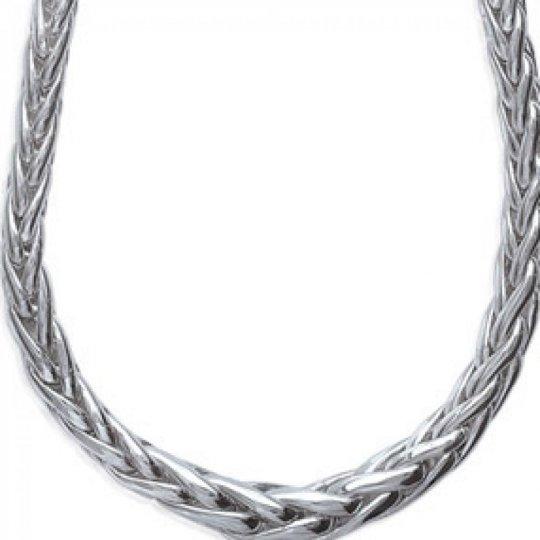 Collar Palmier Plata de Ley Rodiada - Mujer - 45cm