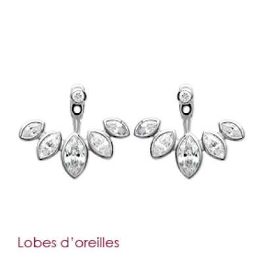 Boucles d'Oreilles Feuilles...