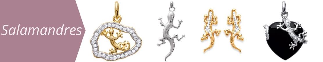 bijoux salamandre margouillat gecko